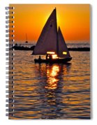 Come Sail Away With Me Spiral Notebook