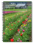 Come See Tulips  Spiral Notebook
