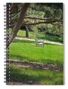 Come Sit - Enjoy Spiral Notebook