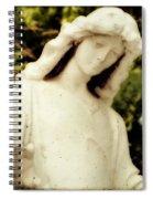 Spiritual Close Up Spiral Notebook