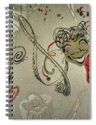 Comedy Tragedy  Spiral Notebook
