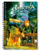 Comerica At Night Spiral Notebook