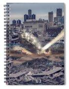 Comerica Park Asteroid Spiral Notebook