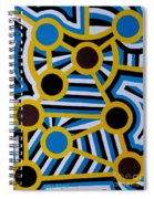 Comets Of Karma Spiral Notebook
