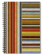 Comfortable Stripes Lx Spiral Notebook