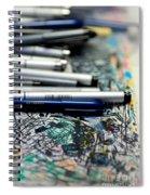 Comic Book Artists Workspace Study 1 Spiral Notebook