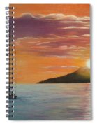 Coming Home English Bay Spiral Notebook