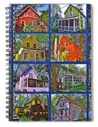 Coming Home Photo Assemblage In Asbury Grove In South Hamilton-massachusetts Spiral Notebook