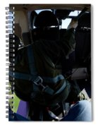 Coming In To Land Spiral Notebook
