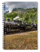 Coming 'round The Mountain Spiral Notebook
