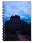 Coming Storm Bell Rock Spiral Notebook
