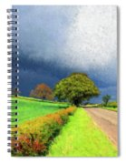 Coming This Way Spiral Notebook