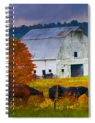 Coming To The Barn Spiral Notebook