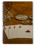 Coming Up Aces Spiral Notebook