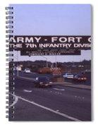 Fort Ord  Commander  Major General Marvin L. Covault  7th Infantry Division 1992 Spiral Notebook