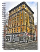 Commerce Street Architecture Spiral Notebook