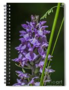 Common Spotted Orchid Spiral Notebook