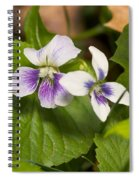 Common Violet Spiral Notebook