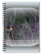 Common Yellowthroat - Bird Spiral Notebook