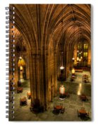 Commons Room Cathedral Of Learning University Of Pittsburgh Spiral Notebook