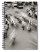 Urban Swirl Spiral Notebook