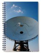 Communicating Via Satellite Dishes. Spiral Notebook