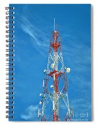 Communications Mast Hua Hin Spiral Notebook