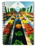 Como Conservatory's Fall Display. St Paul Minnesota. Spiral Notebook