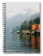 Como Rain Spiral Notebook