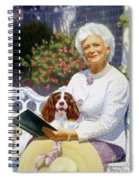 Companions In The Garden Spiral Notebook