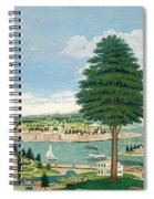 Composite Harbor Scene With Castle Spiral Notebook