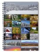 Composite Of Photographs From Various Spiral Notebook