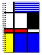 Composition 117 Spiral Notebook
