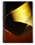 Composition In Gold Spiral Notebook