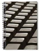 Computer Keyboard Spiral Notebook