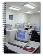 Computer Lab, C1990 Spiral Notebook