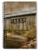 Comstock Bridge 2012 Spiral Notebook