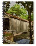 Comstock Covered Bridge East Hamptom Connecticut Spiral Notebook