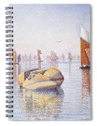 Concarneau   Quiet Morning Spiral Notebook
