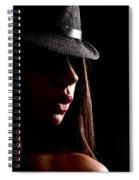 Concealed Lips Spiral Notebook