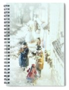 Concert In The Snow Spiral Notebook