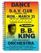 Concert Poster Spiral Notebook