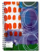 Concerto One - Abstract Art Spiral Notebook