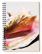 Conch Shell - Listen Spiral Notebook