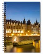 Conciergerie Twilight - River Seine Spiral Notebook
