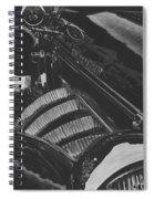 Concours At Dusk 1935 Auburn Speedster Spiral Notebook