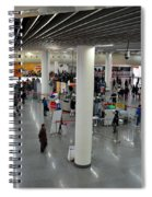 Concourse At People's Square Subway Station Shanghai China Spiral Notebook