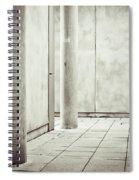 Concrete Space Spiral Notebook