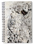 Concrete Texture Spiral Notebook
