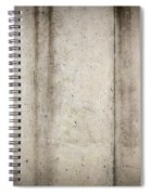 Concrete Wall Spiral Notebook